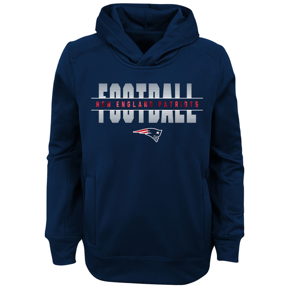 NEW ENGLAND PATRIOTS Big Boys' Union Football Pullover Hoodie S