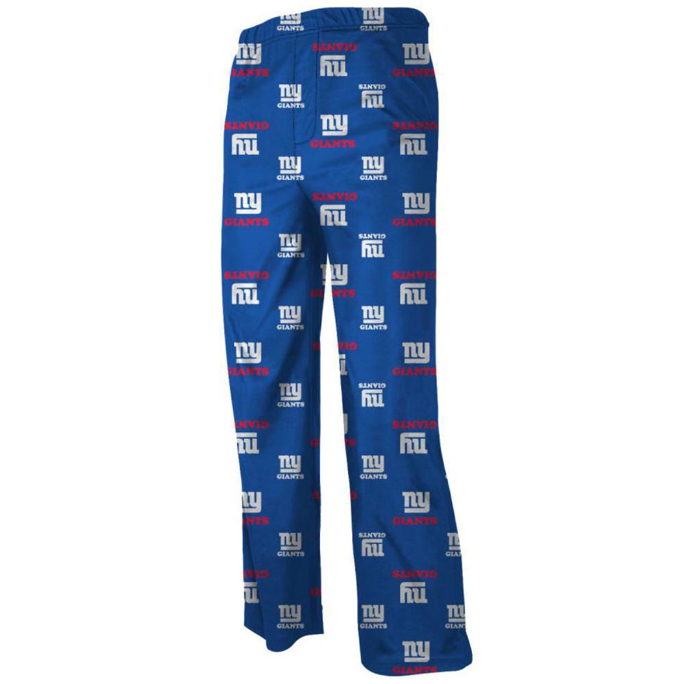 NEW YORK GIANTS Big Boys' Team Color Printed Lounge Pants S