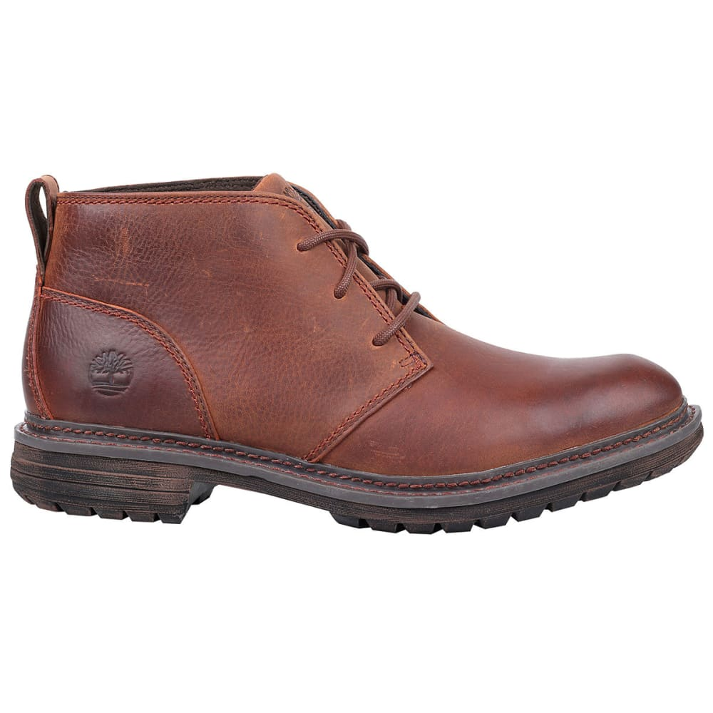 TIMBERLAND Men's Logan Bay Lace-Up Chukka Boots - MED BROWN
