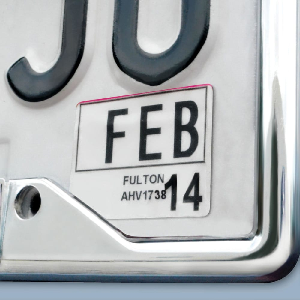FAN MATS Clemson University Tigers License Plate Frame - ORANGE/WHITE