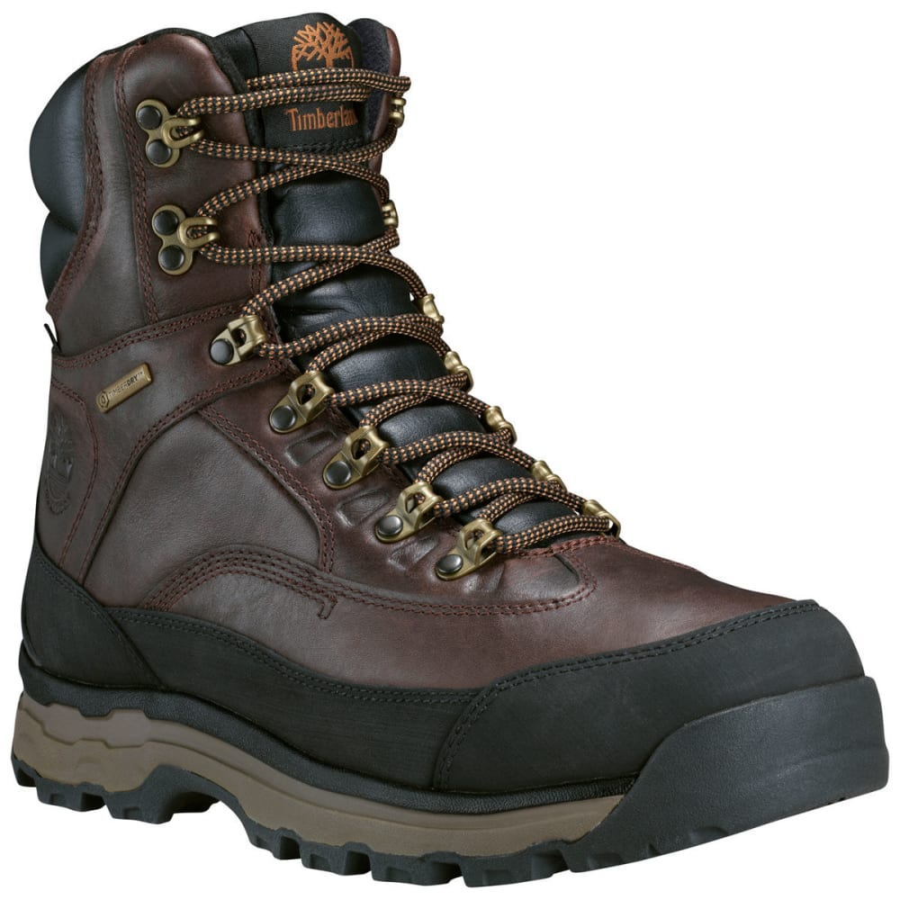 Timberland Men's 8 In. Chocorua Trail 2.0 Waterproof Insulated Storm Boots - Brown, 8