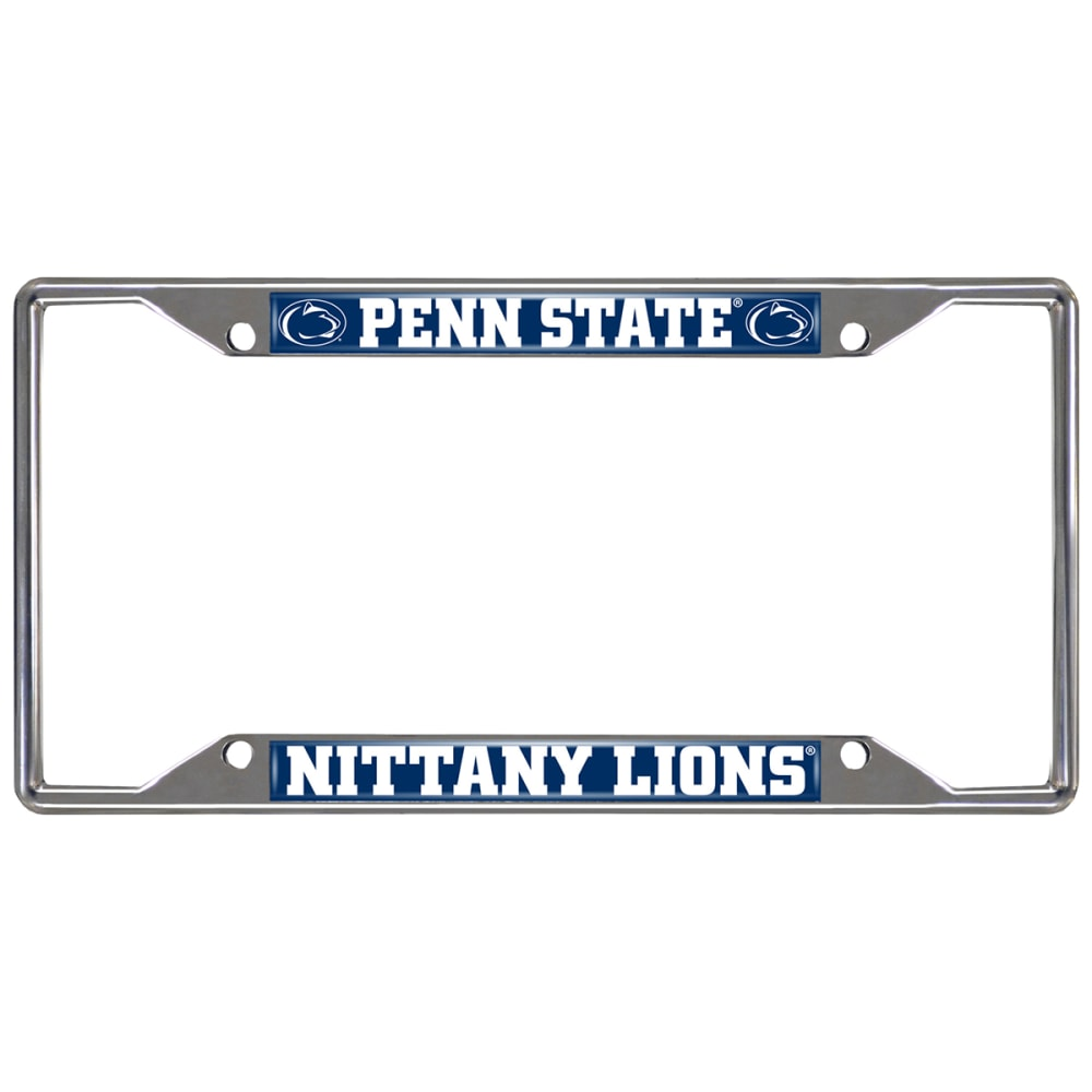 FAN MATS Penn State Nittany Lions License Plate Frame ONE SIZE