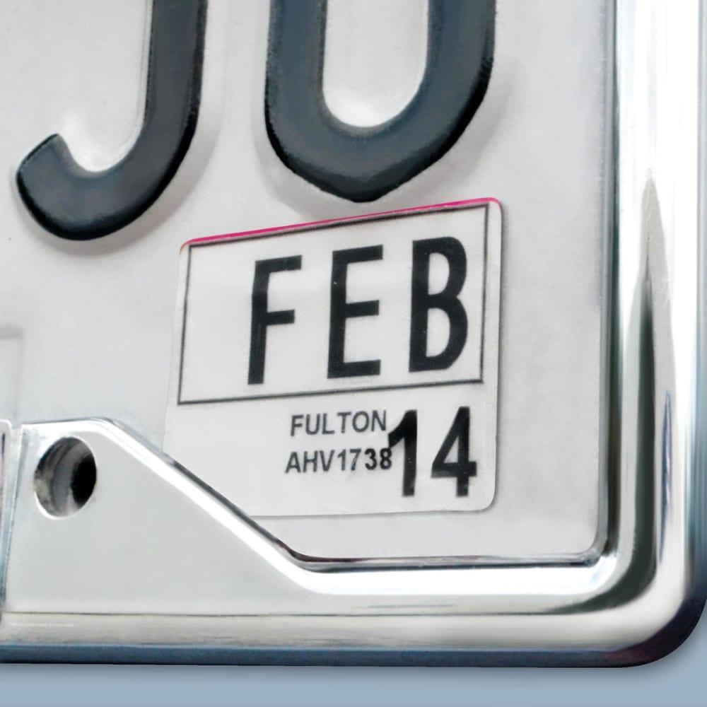 FAN MATS Texas A&M Aggies Tigers License Plate Frame - MAROON/WHITE
