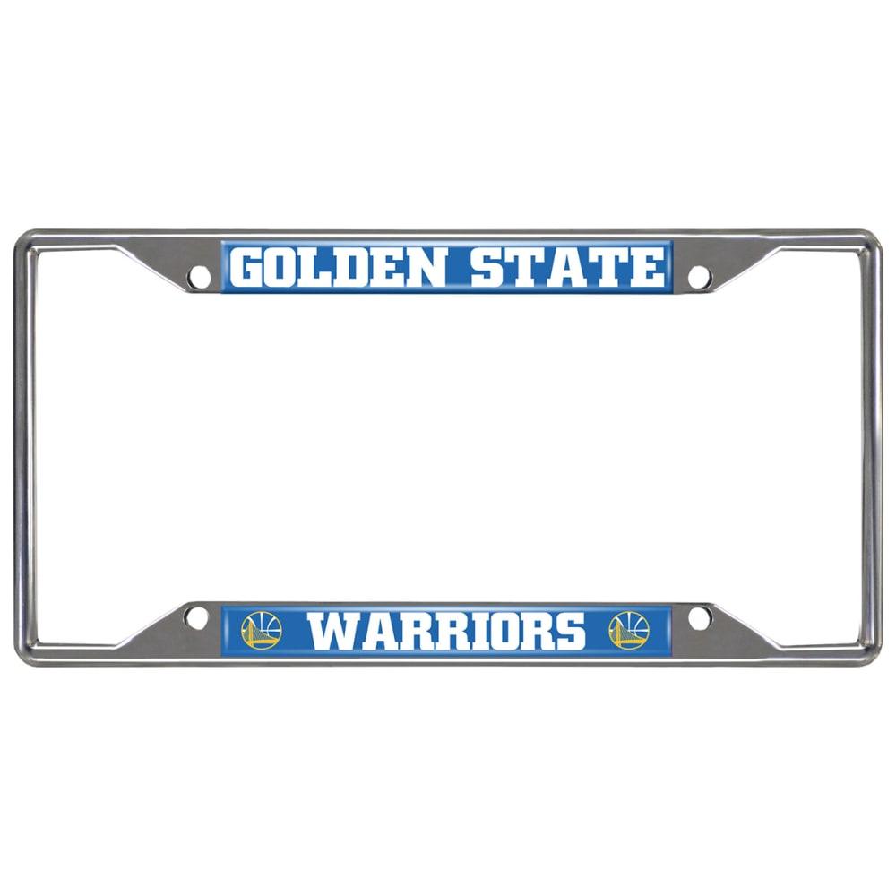 FAN MATS Golden State Warriors License Plate Frame ONE SIZE