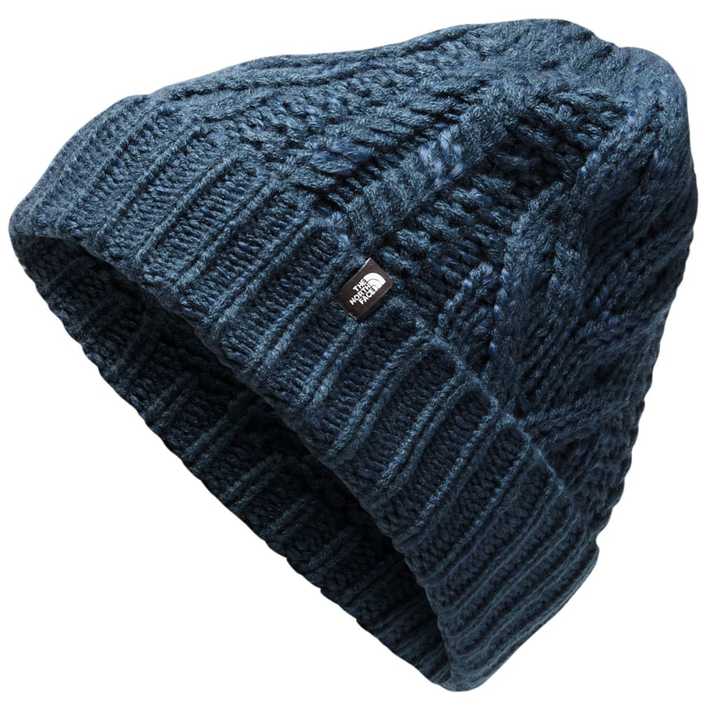 The North Face Women's Cable Minna Beanie - Blue, ONESIZE
