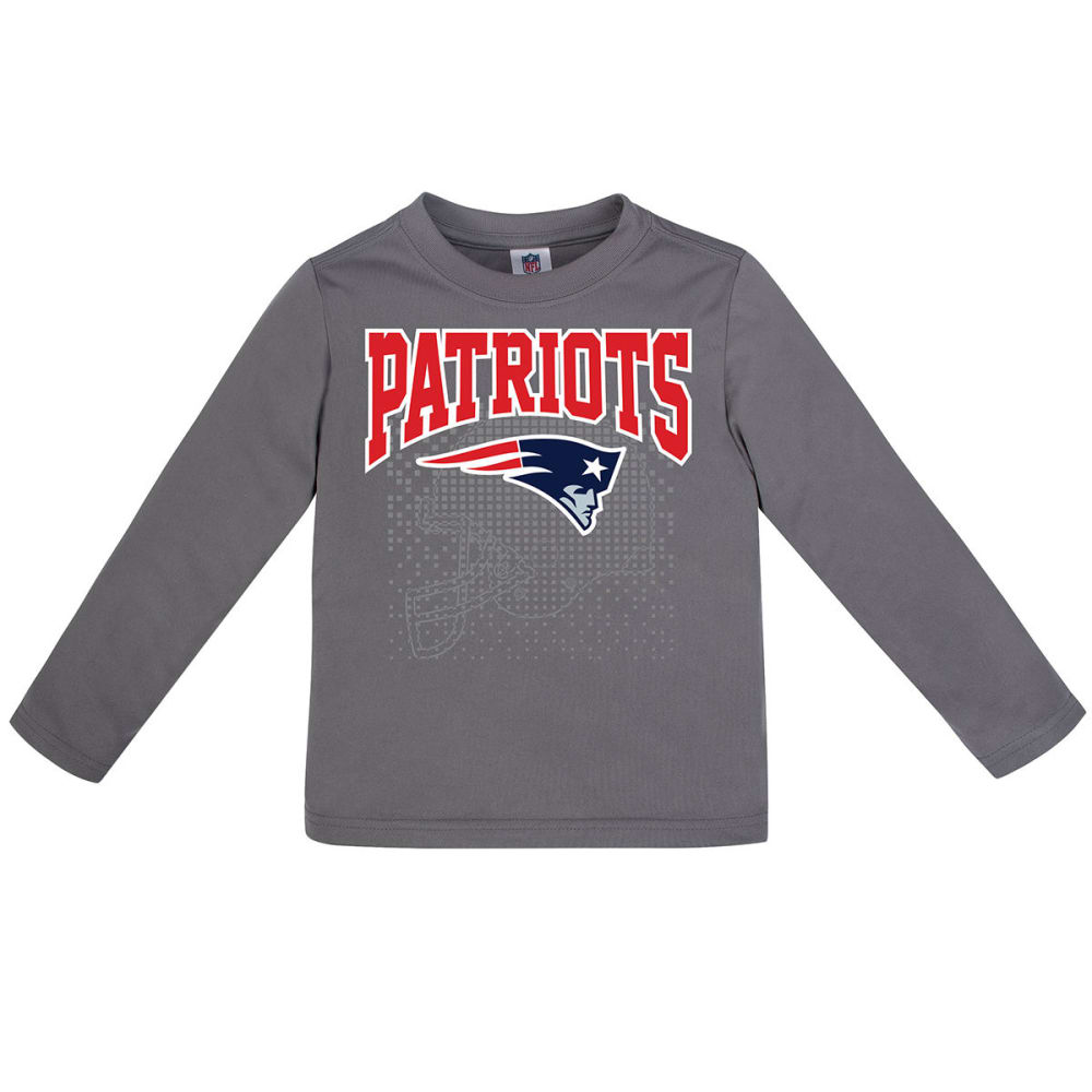 NEW ENGLAND PATRIOTS Toddler Boys' Poly Long-Sleeve Tee 4T