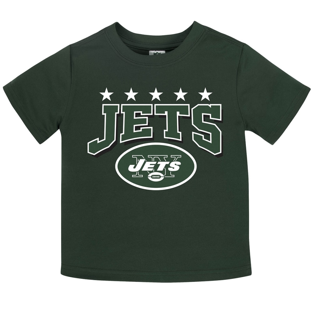 NEW YORK JETS Toddler Boys' Poly Short-Sleeve Tee - GREEN