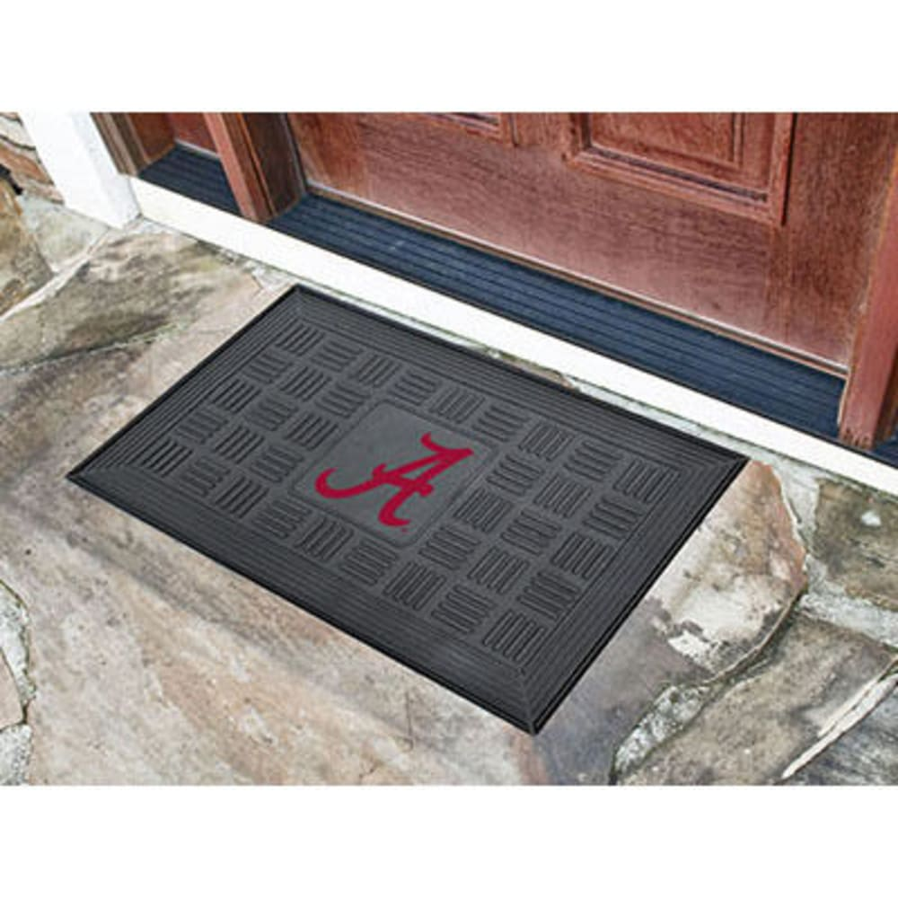 Fan Mats University Of Alabama Medallion Door Mat, Black