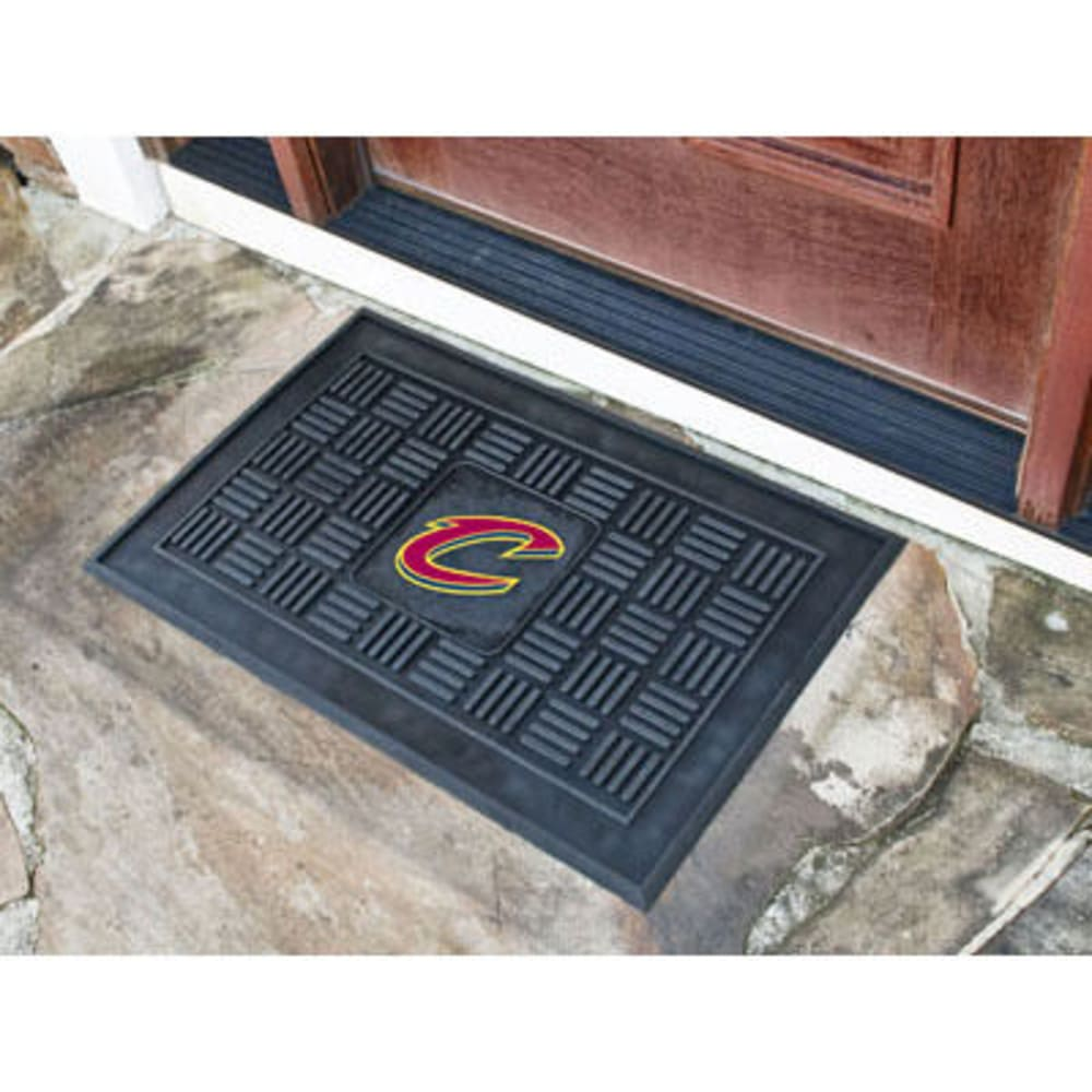 Fan Mats Cleveland Cavaliers Medallion Door Mat, Black