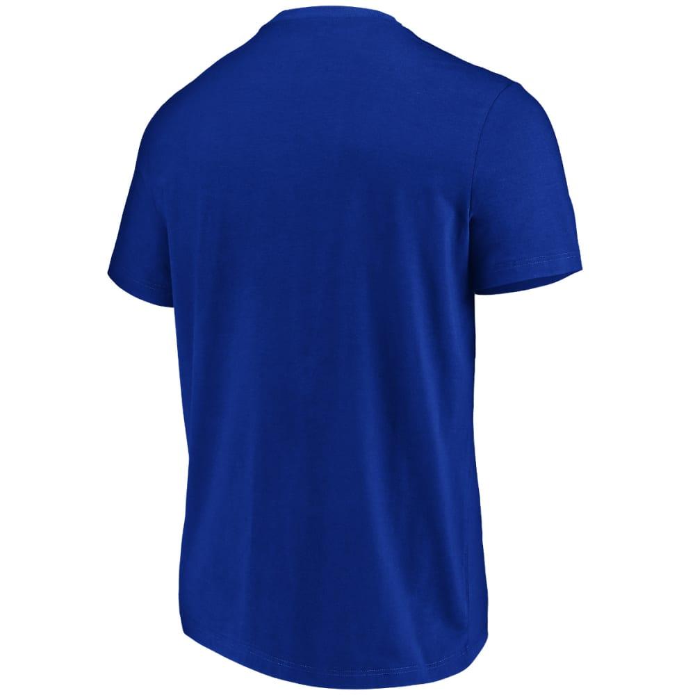 NEW YORK GIANTS Men's Flex Logo Short-Sleeve Tee - ROYAL BLUE
