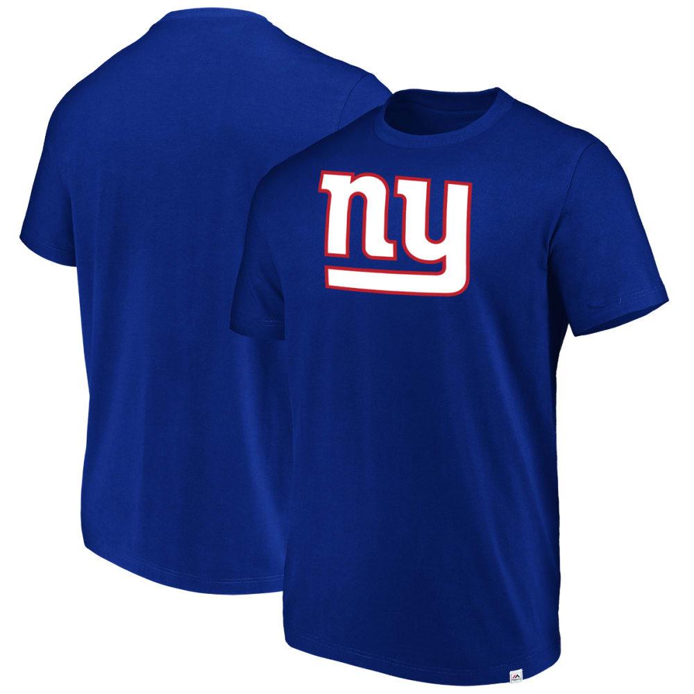 NEW YORK GIANTS Men's Flex Logo Short-Sleeve Tee M
