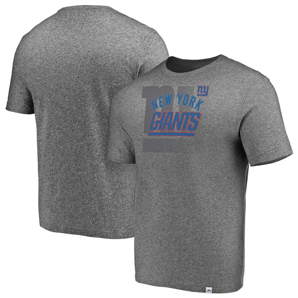 NEW YORK GIANTS Men's Static Fade Short-Sleeve Tee - GREY