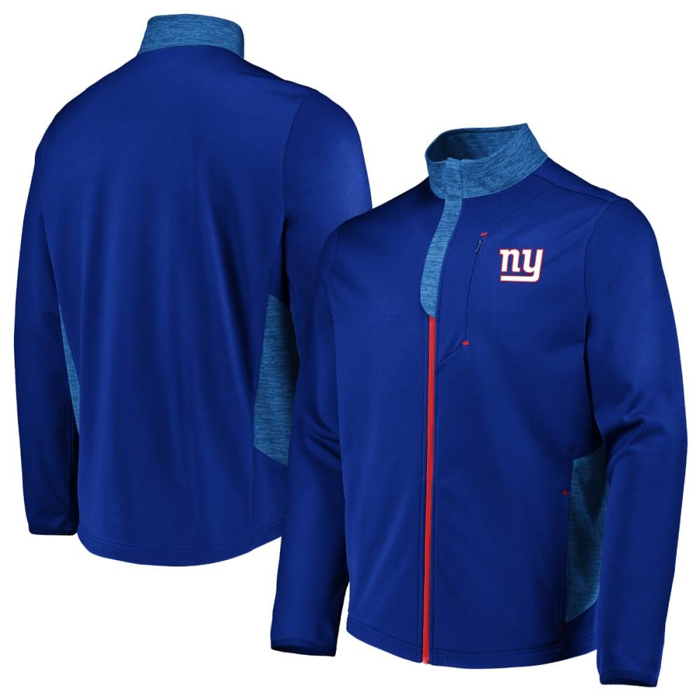 NEW YORK GIANTS Men's Team Tech Full-Zip Fleece - ROYAL BLUE