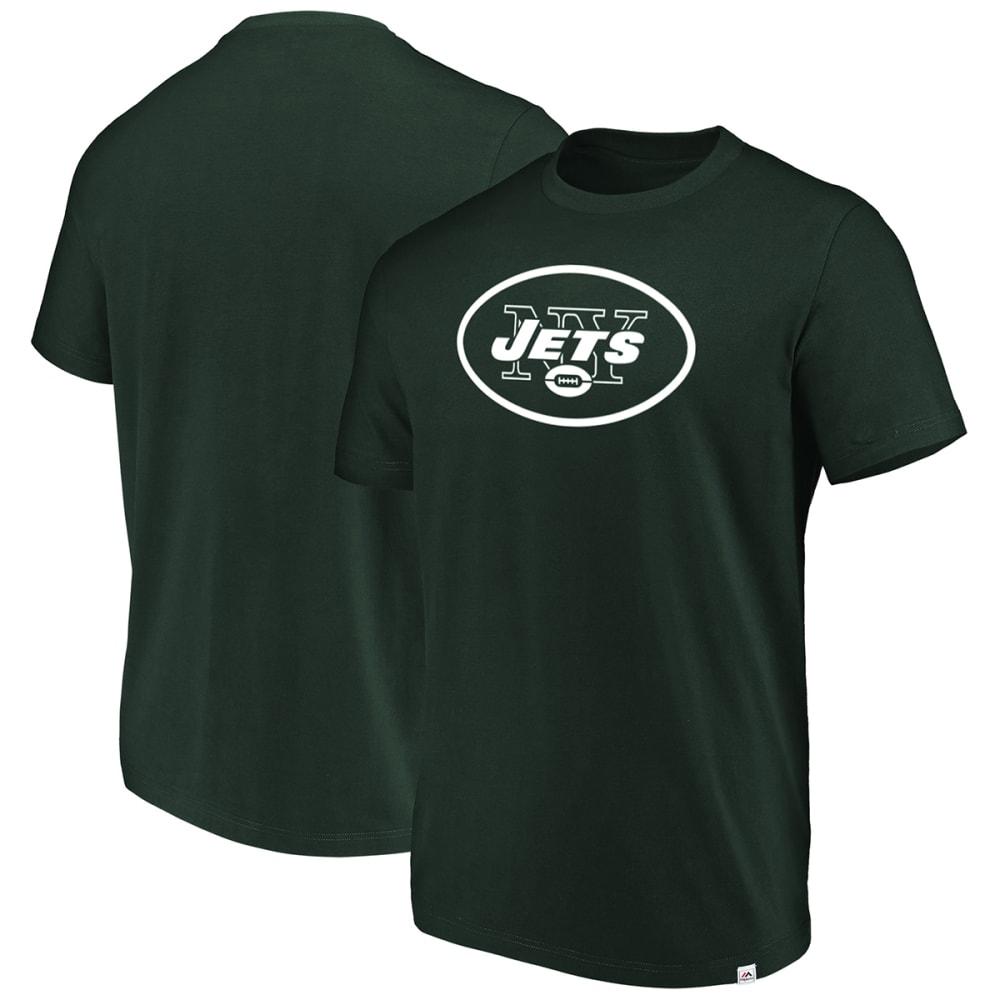 New York Jets Men's Flex Logo Short-Sleeve Tee - Green, L
