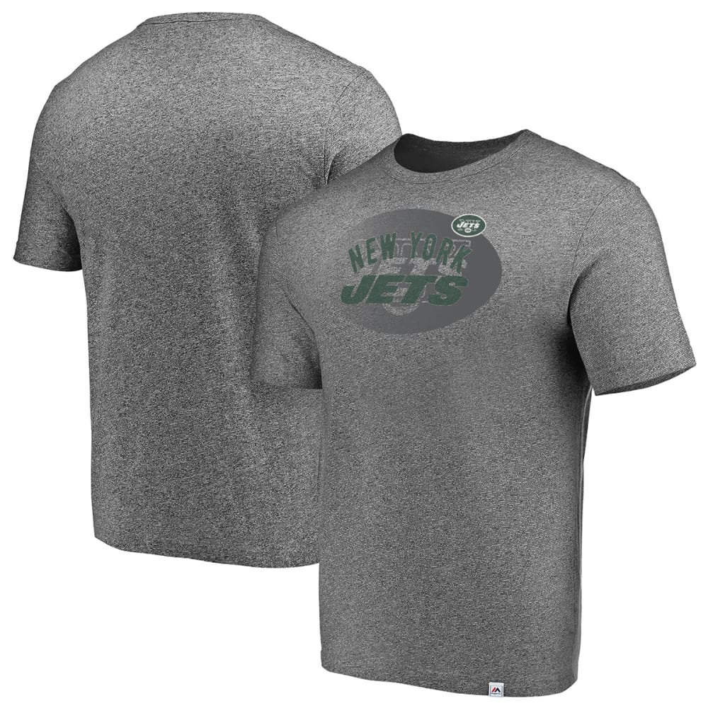 NEW YORK JETS Men's Static Fade Short-Sleeve Tee XXL