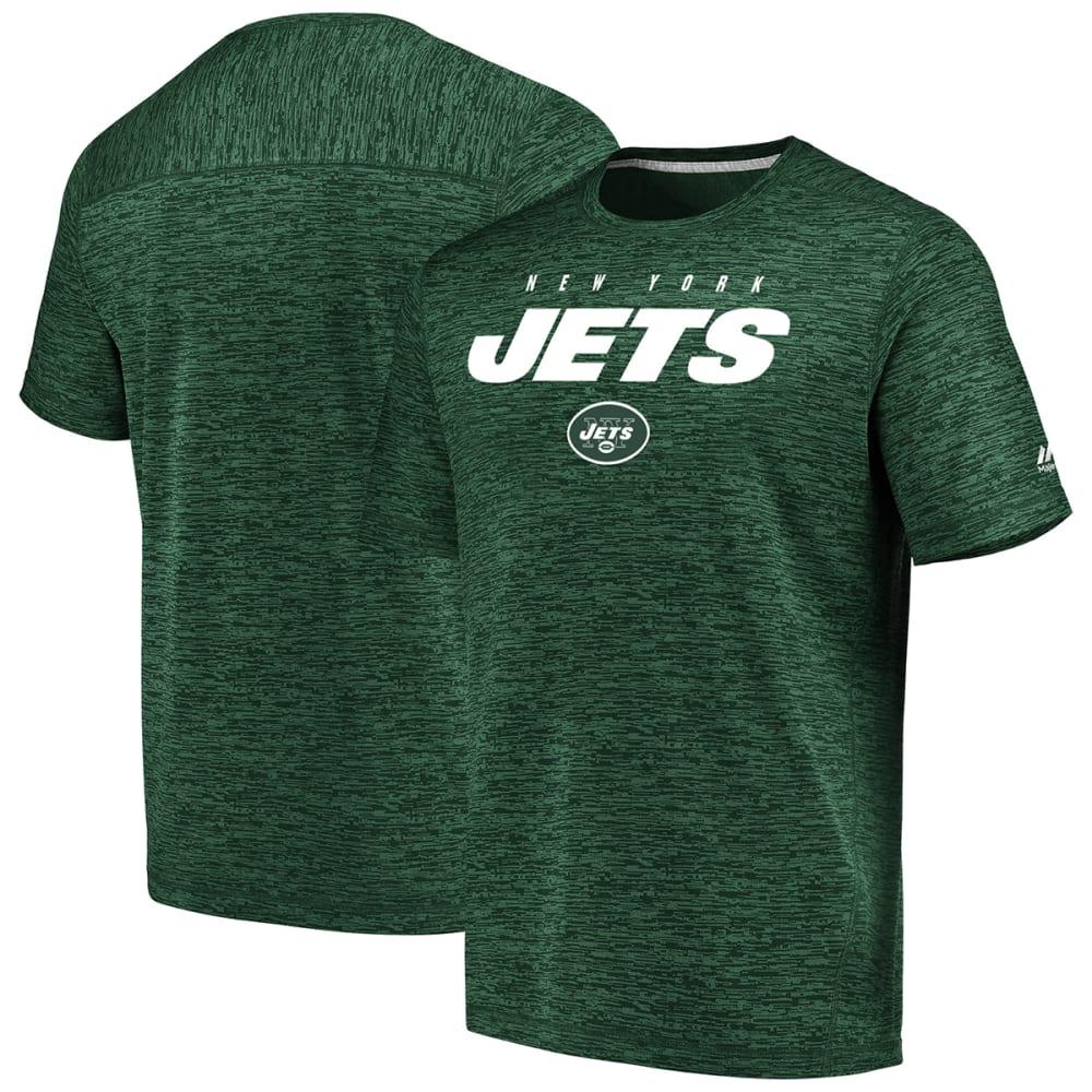 NEW YORK JETS Men's Ultra Streak Poly Short-Sleeve Tee M