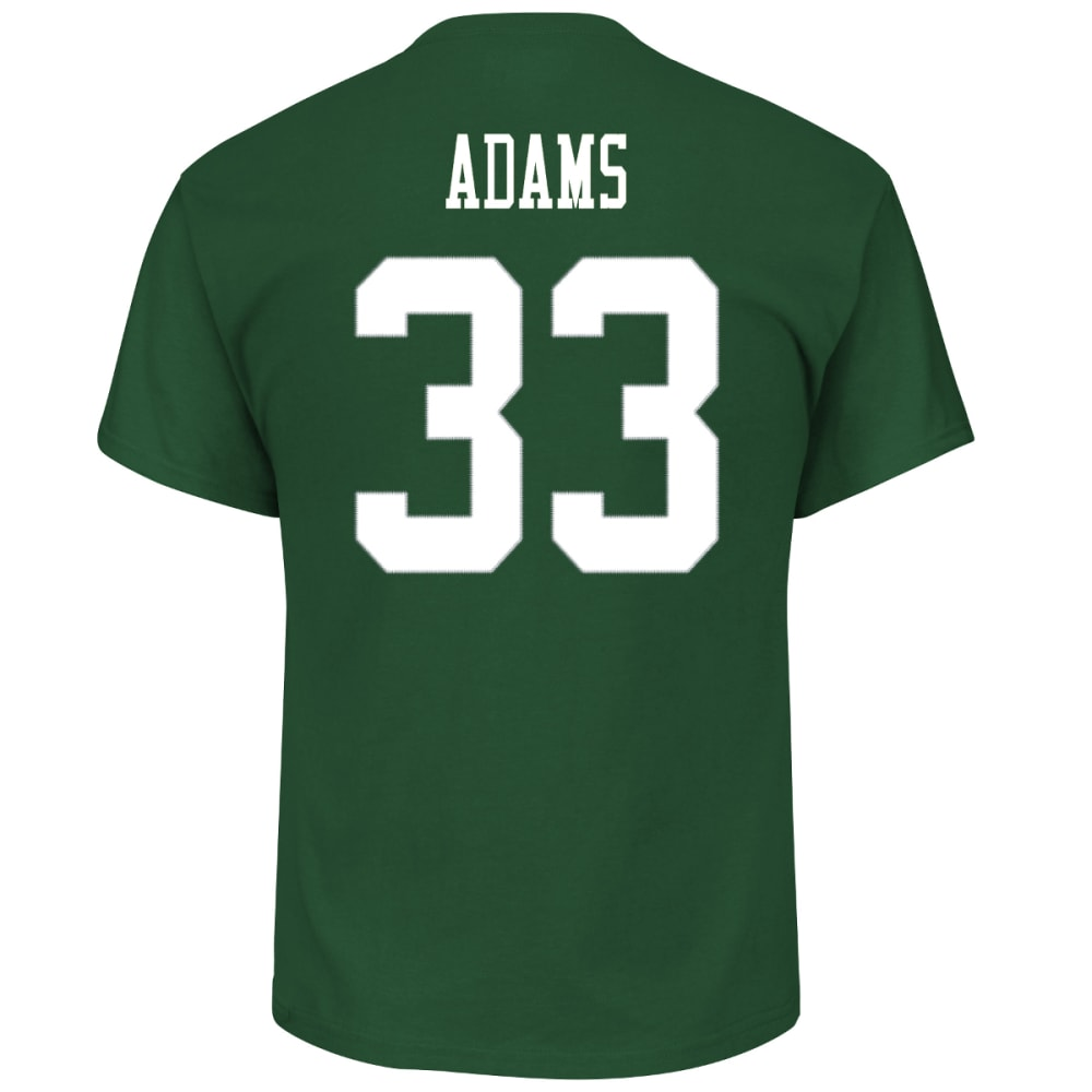 NEW YORK JETS Men's Eligible Receiver #33 Jamal Adams Name and Number Tee - GREEN