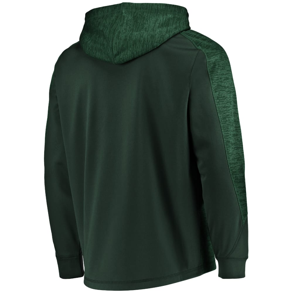 NEW YORK JETS Men's Armor Poly Pullover Hoodie - GREEN