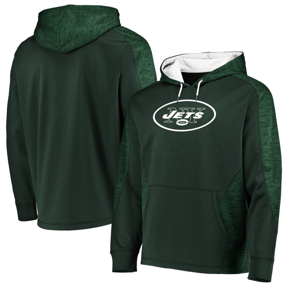 NEW YORK JETS Men's Armor Poly Pullover Hoodie XL