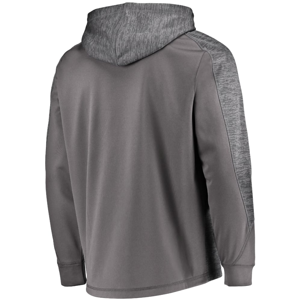 NEW YORK JETS Men's Armor Poly Pullover Hoodie - CHARCOAL