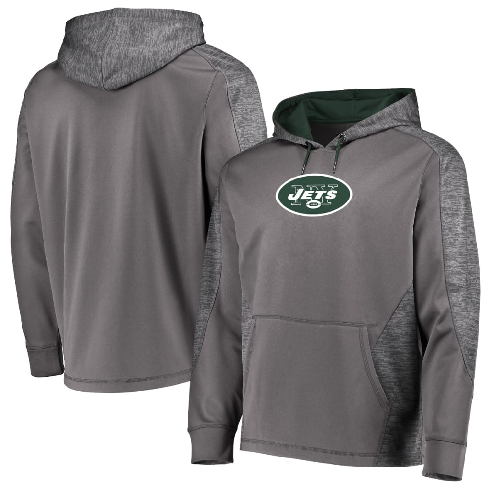 NEW YORK JETS Men's Armor Poly Pullover Hoodie M