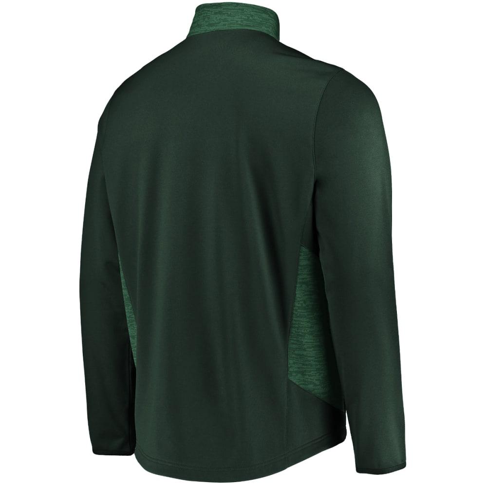 NEW YORK JETS Men's Team Tech Full-Zip Fleece - GREEN