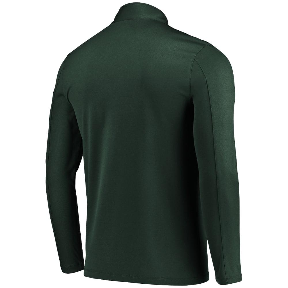NEW YORK JETS Men's Ultra Streak Half Zip Pullover - GREEN