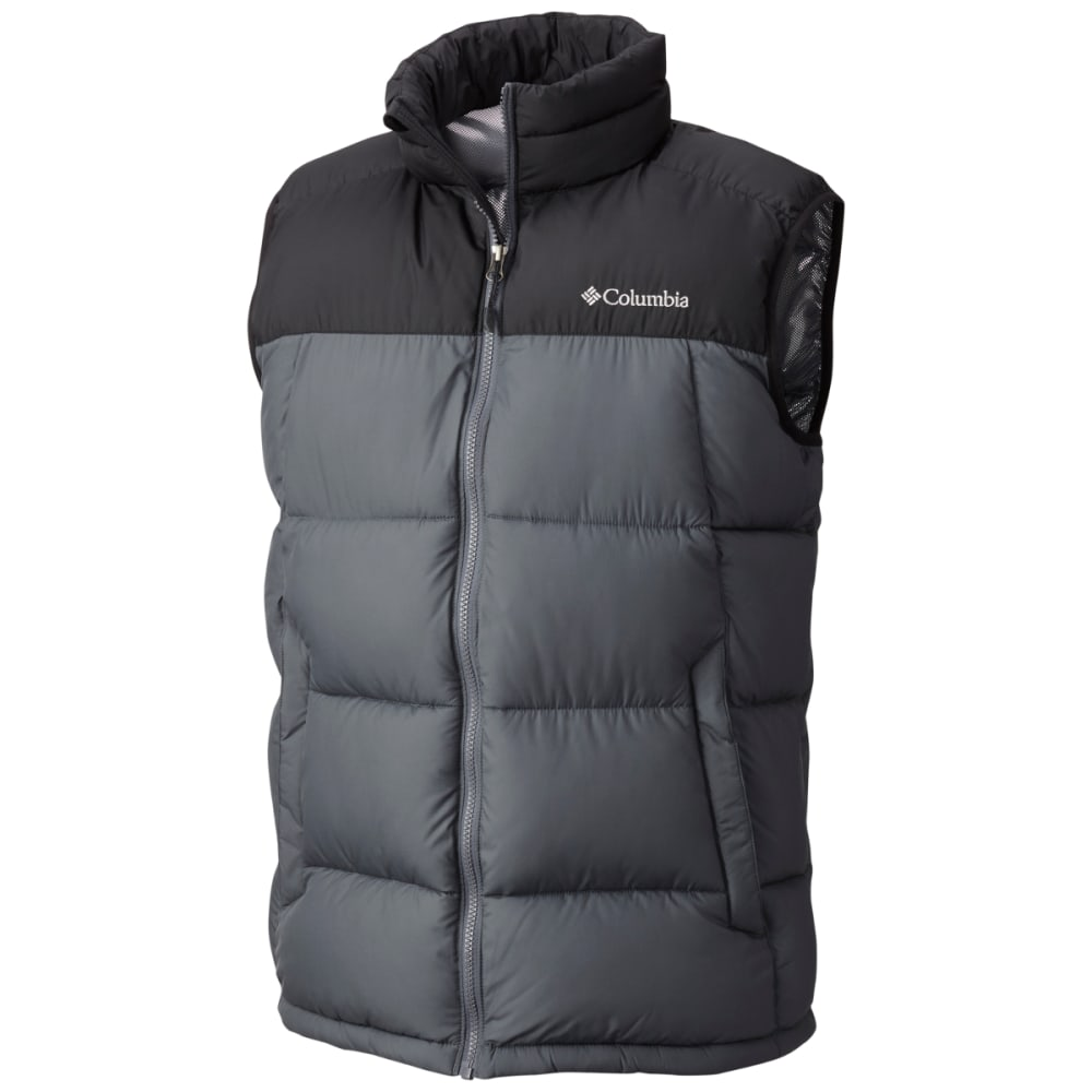 COLUMBIA Men's Pike Lake Vest - 010-BLACK GRAPHITE