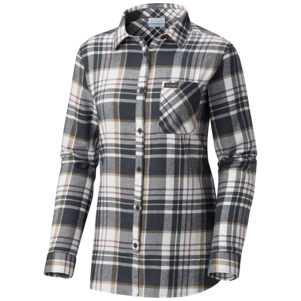 Columbia Women's Simply Put Ii Long-Sleeve Flannel Shirt - Black, XS