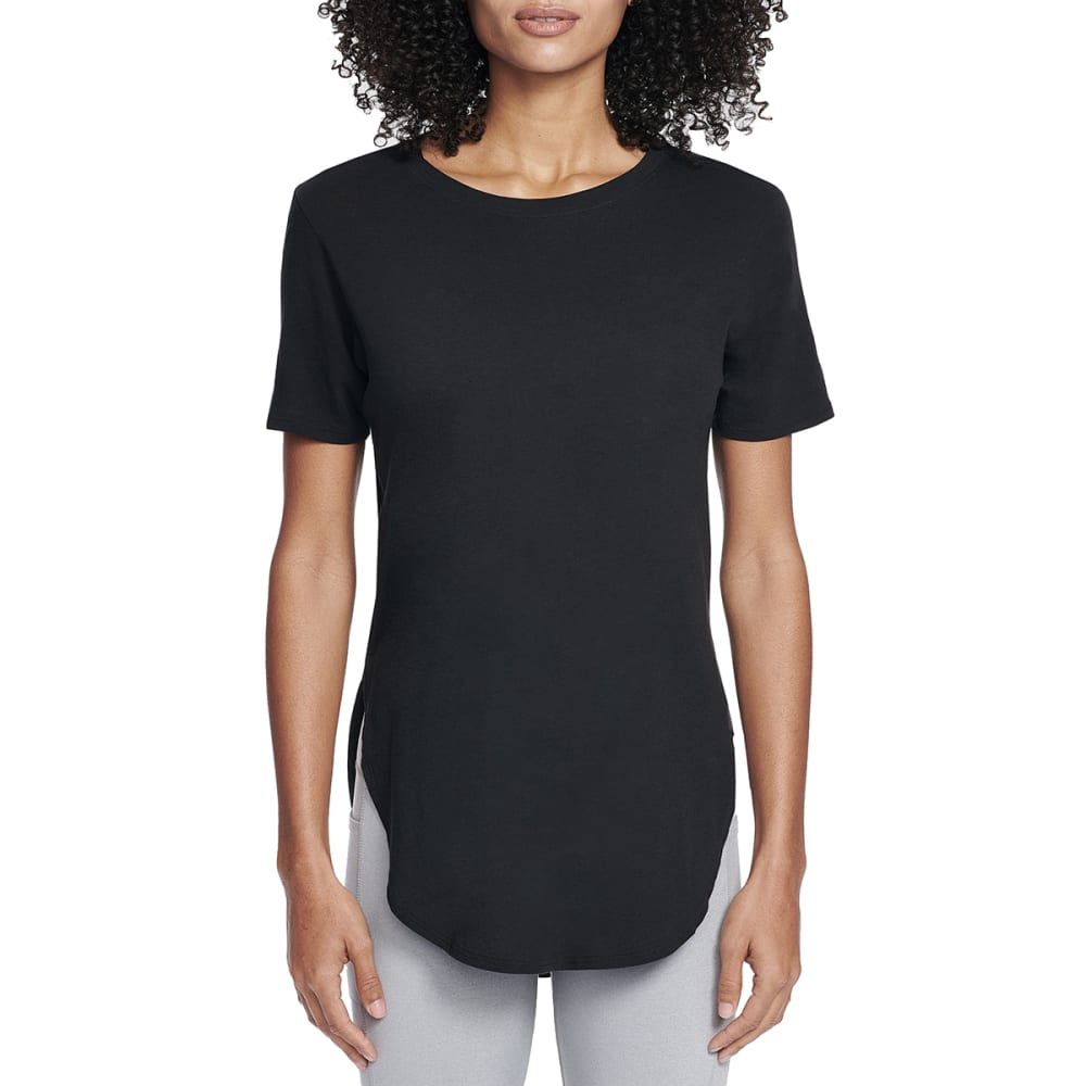 SKECHERS Women's Restore Short-Sleeve Tunic Top S