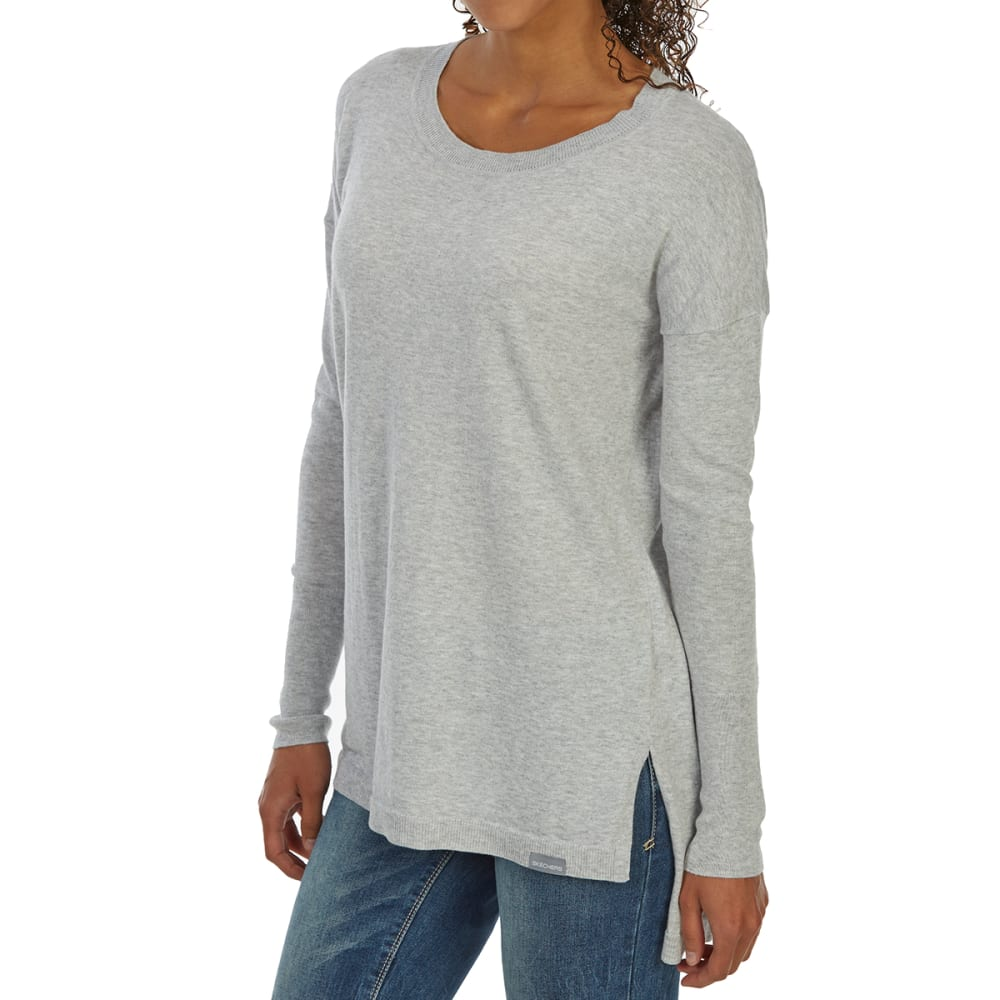 SKECHERS Women's Stability Long-Sleeve Tunic Top - LT GY