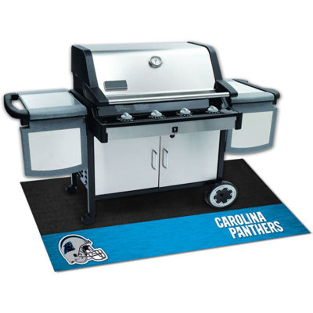Fan Mats Carolina Panthers Grill Mat, Black/blue