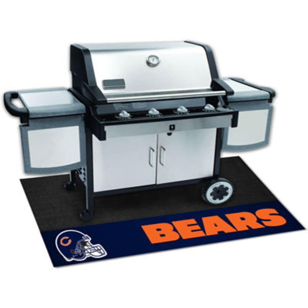 Fan Mats Chicago Bears Grill Mat, Black/blue