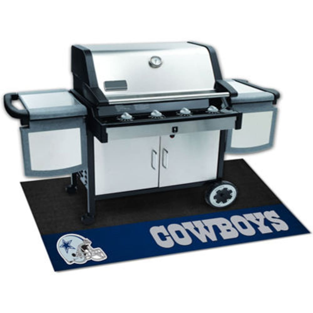 FAN MATS Dallas Cowboys Grill Mat, Black/Blue - BLACK/BLUE