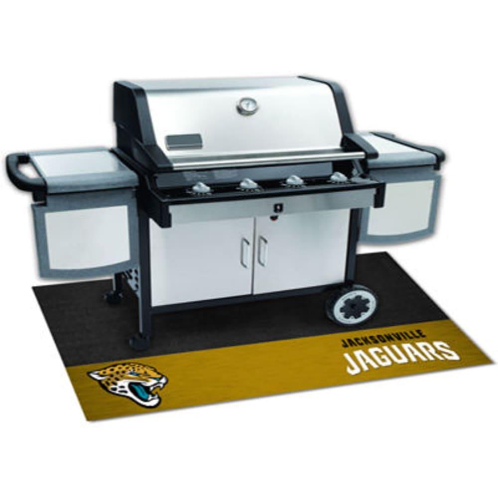 FAN MATS Jacksonville Jaguars Grill Mat, Black/Gold - BLACK/GOLD