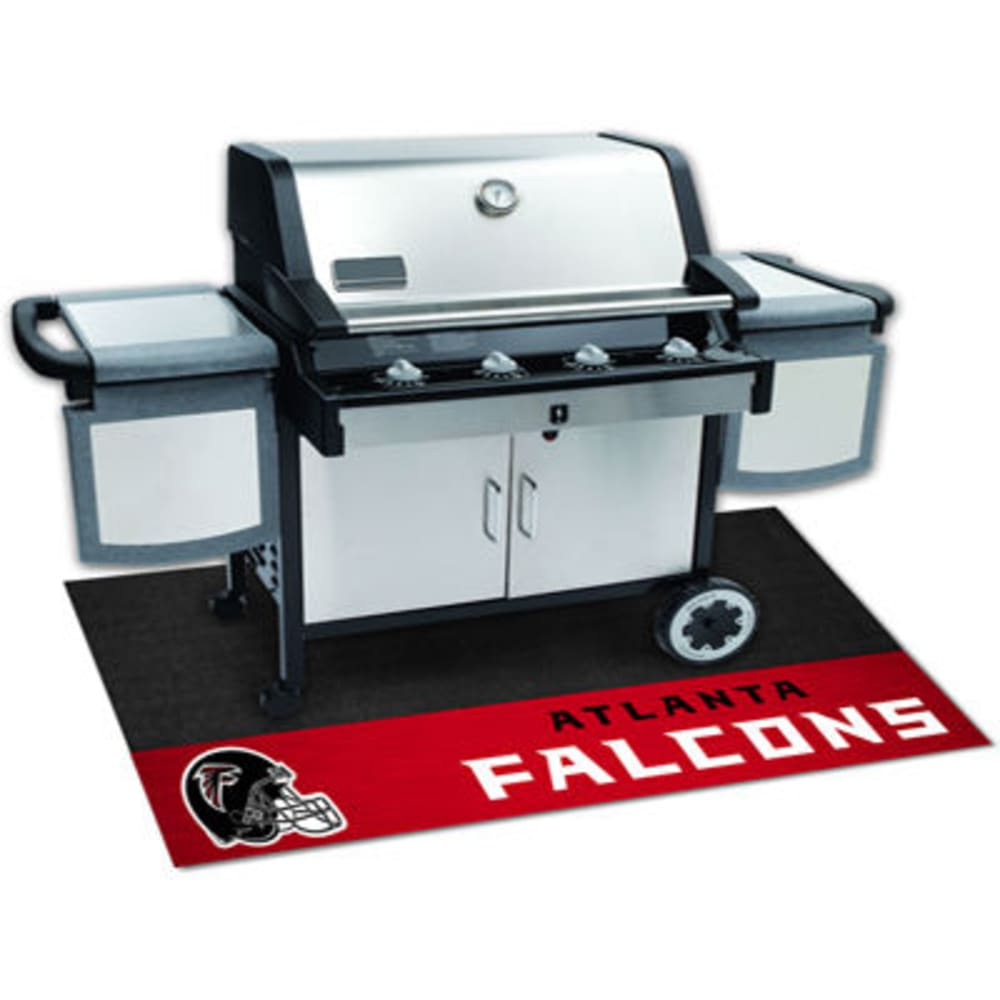 Fan Mats Atlanta Falcons Grill Mat, Black/red