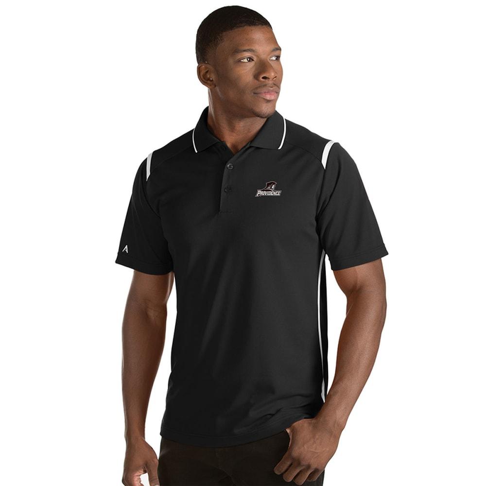 PROVIDENCE COLLEGE Men's Merit Short-Sleeve Polo Shirt - BLACK