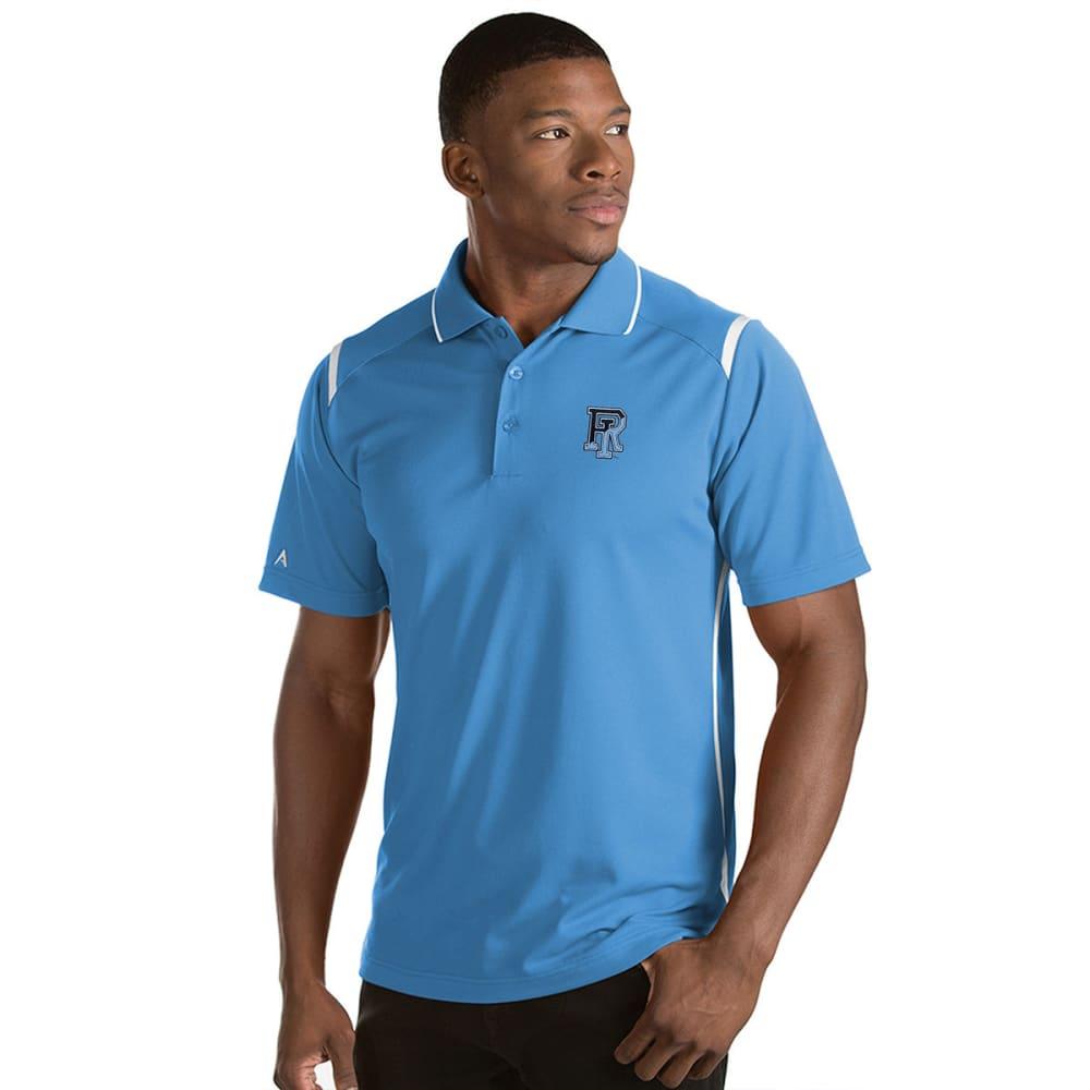 URI Men's Merit Short-Sleeve Polo Shirt - COLUMBIA BLUE
