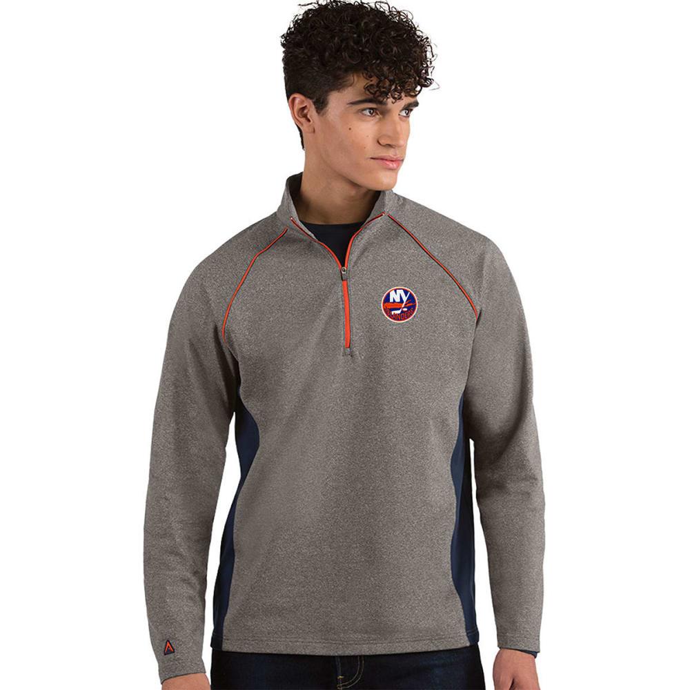 NEW YORK ISLANDERS Men's Stamina ¼-Zip Pullover - CHARCOAL