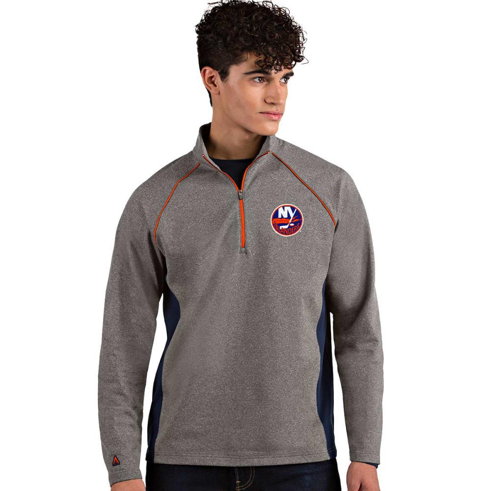 NEW YORK ISLANDERS Men's Stamina Quarter Zip Pullover M