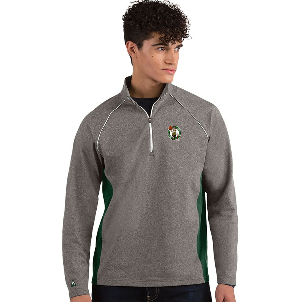 BOSTON CELTICS Men's Stamina Quarter Zip Pullover M