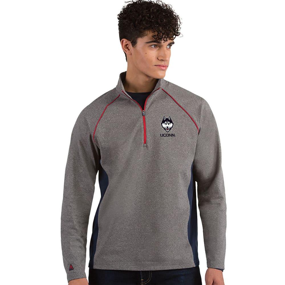 UCONN Men's Stamina 1/4 Zip Pullover - CHARCOAL