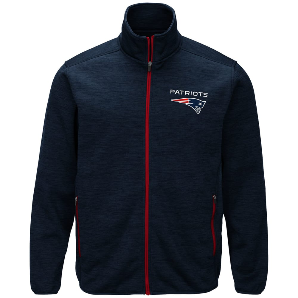 NEW ENGLAND PATRIOTS Men's High Jump Space-Dye Jacket M