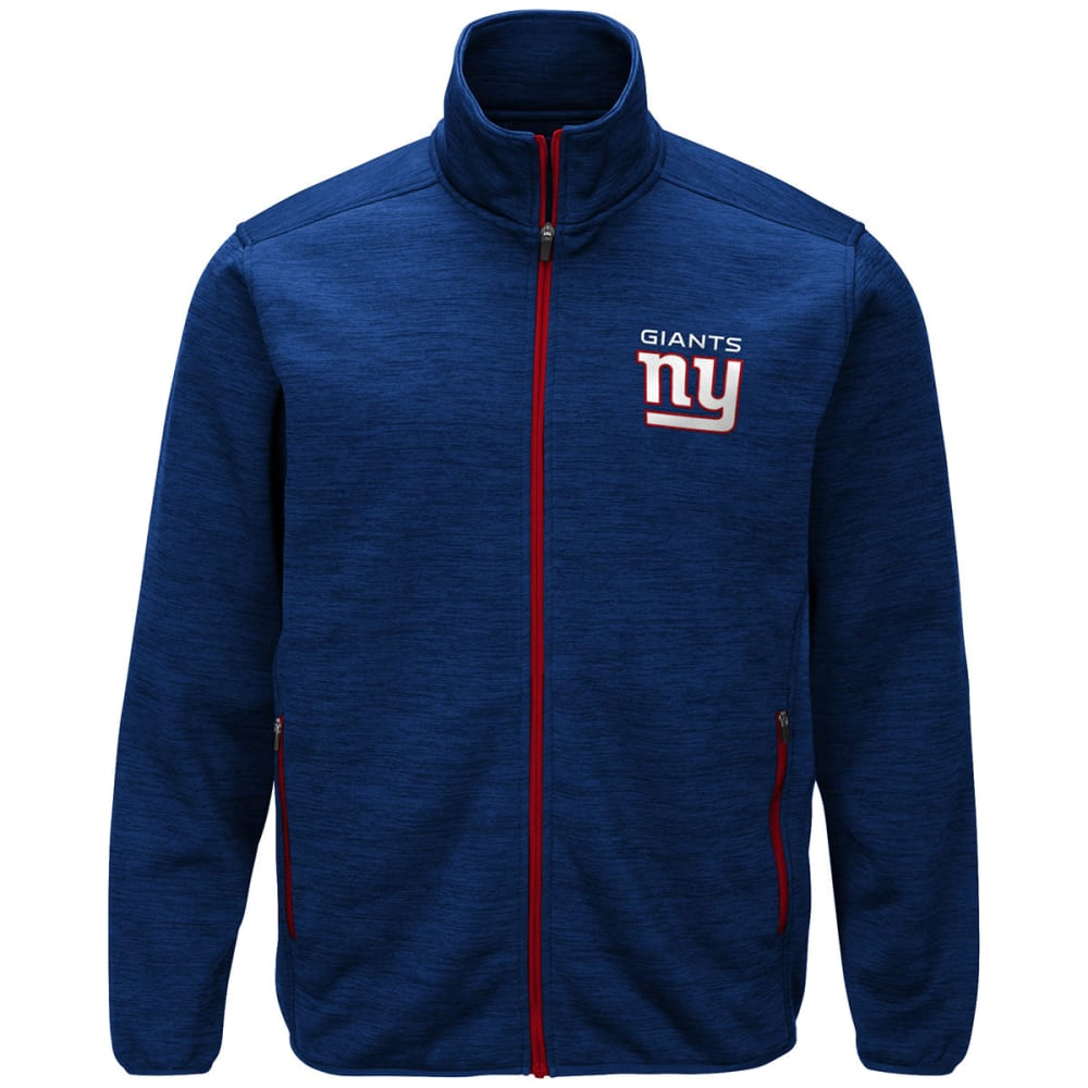 NEW YORK GIANTS Men's High Jump Space-Dye Jacket - ROYAL BLUE