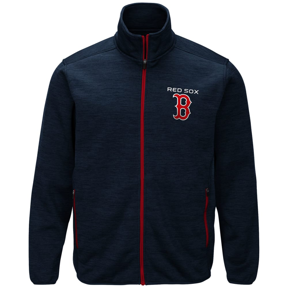 BOSTON RED SOX Men's High Jump Space-Dye Jacket - NAVY