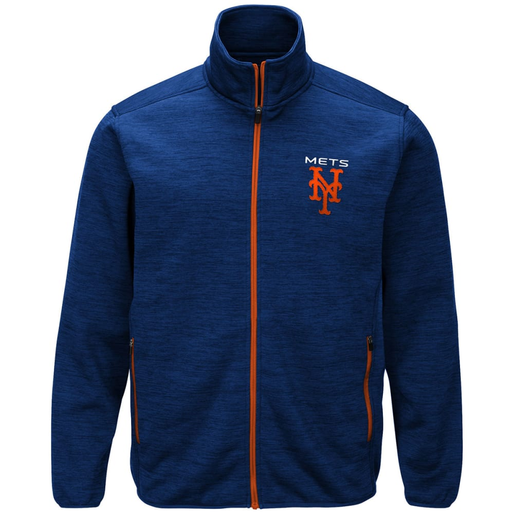 NEW YORK METS Men's High Jump Space-Dye Jacket - ROYAL BLUE