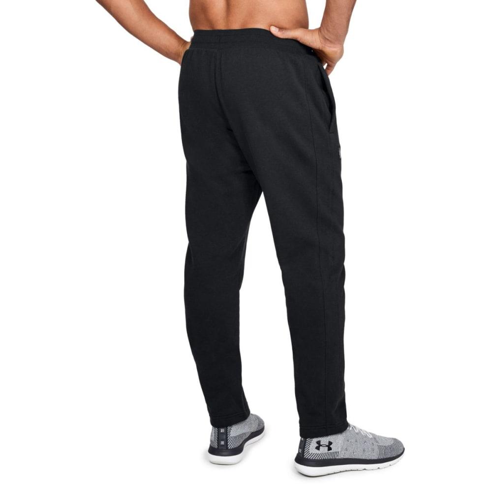 UNDER ARMOUR Men's UA Rival Fleece Pants - BLACK/WHT-001