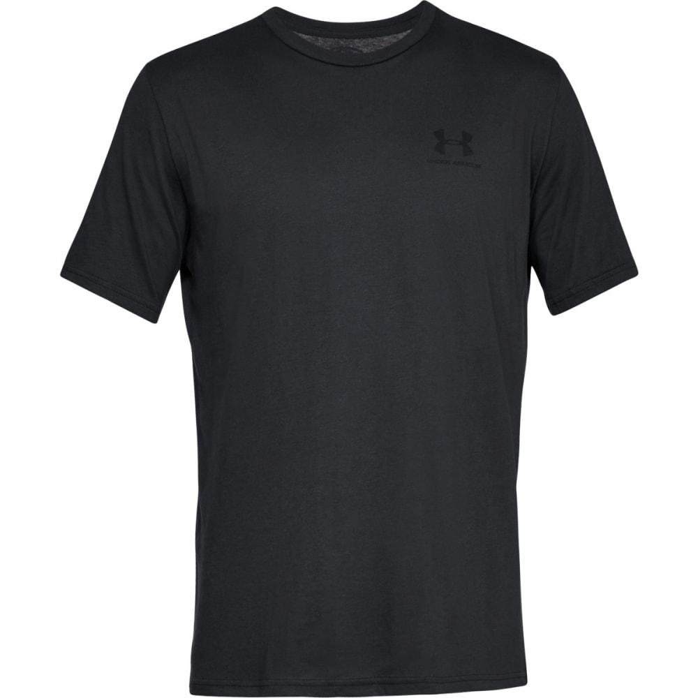 UNDER ARMOUR Men's UA Sportstyle Left Chest Short-Sleeve Tee - BLACK-001
