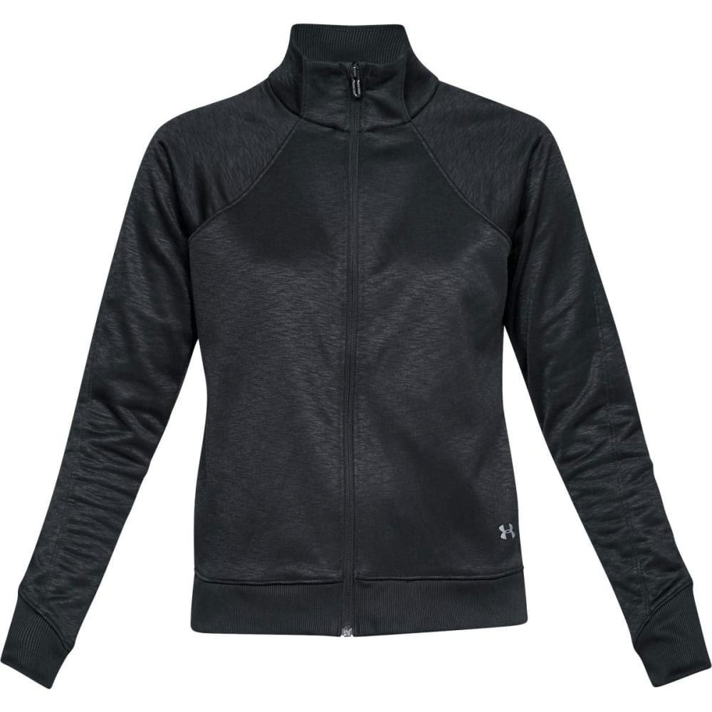 UNDER ARMOUR Women's Armour Fleece® Full-Zip Active Top - BLACK-001