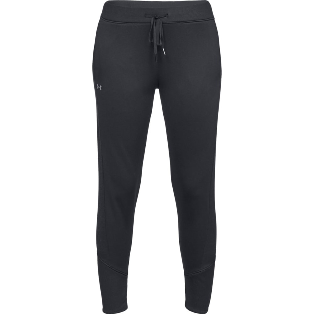 UNDER ARMOUR Women's Armour Fleece Jogger Pants - BLACK-001